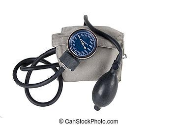 blood pressure monitor or sphygmomanometer, medical device