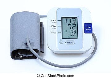 Blood pressure monitor - Modern electronic blood pressure...