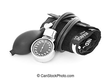 blood pressure - medicine object. blood pressure with...