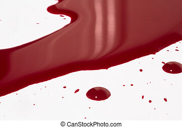 Blood puddle - A high resolution image of a puddle of blood
