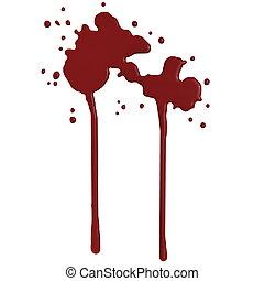 Blood splash - 3D render