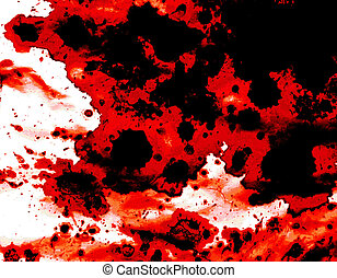 Blood splatter background