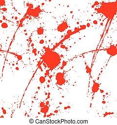 Blood splatter seamless tile