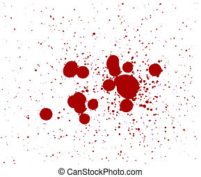 Blood Splatters Drips that can be color changed into slime ...