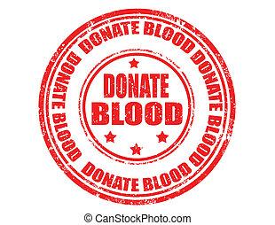 blood-stamp, donner