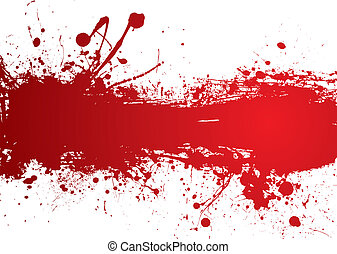 blood strip banner - Blood red banner with room to add your ...