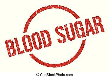 blood sugar stamp