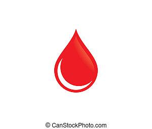 Blood symbol illustration