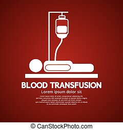 Blood Transfusion. - Blood Transfusion Illustration.