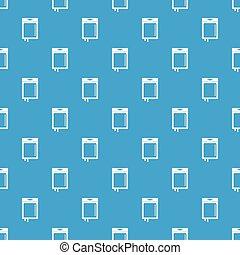 Blood transfusion pattern seamless blue - Blood transfusion...