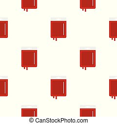 Blood transfusion pattern seamless for any design vector...
