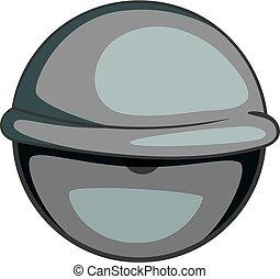 Bloodshot eyeball icon monochrome - Bloodshot eyeball icon...