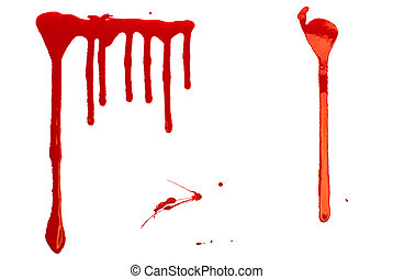 Bloody Background. Blood imitating red paint splash and ...