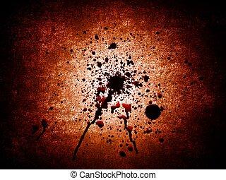 Bloody blots