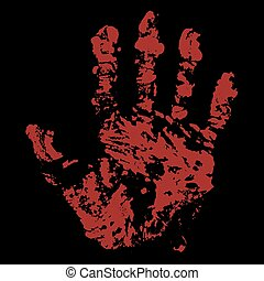 Bloody Hand Trace