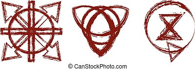 Bloody runes