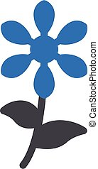 bloom vector glyph colour icon