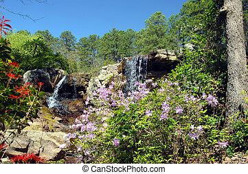 Blooming Waterfall