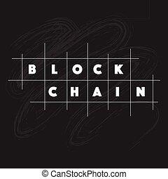 bloque, cadena