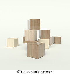 bloques de madera