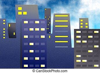 bloques de oficinass