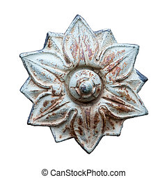 Blossom 1, metal ornament
