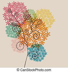 blossom , doorzichtigheid, twirl