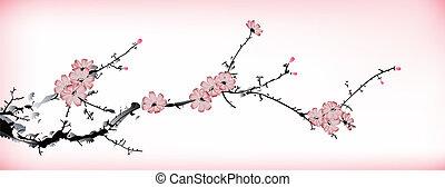 blossom , schilderij