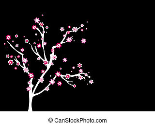 Blossom tree - Abstract tree with blossom