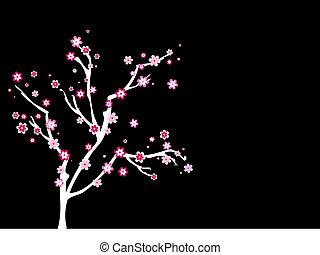 Blossom tree - Abstract tree with blossom
