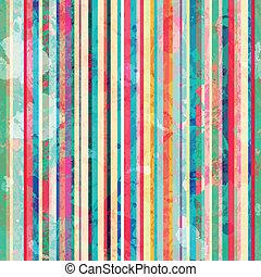 blots, coloreado, patrón, líneas, efecto, seamless