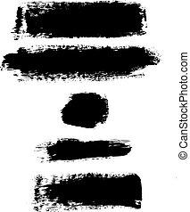 blots, negro