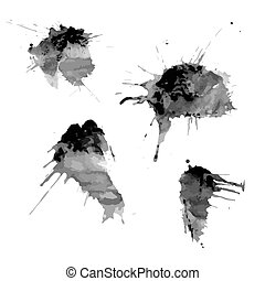blots of ink spots