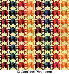 blots seamless pattern in retro style
