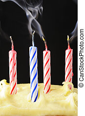 Blown out Birthday Candles