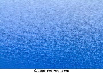 blu, abbastanza, superficie, oceano