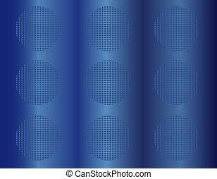 blu, abstratos, fundo, 3d