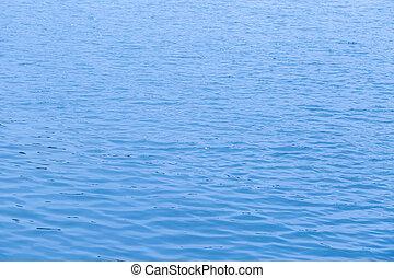 blu, acqua, mare, superficie