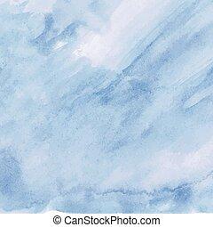 blu, acquarello, luce