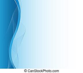 blu, astratto, affari, disegno