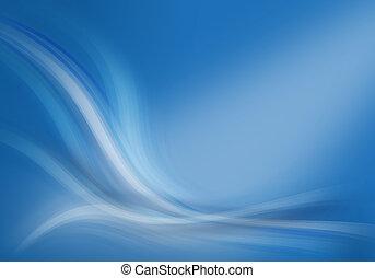 blu, astratto, composizione