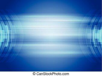 blu, astratto, corporativo, ciao-tecnologia, fondo