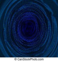blu, astratto, fractal, fondo