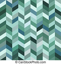 blu, astratto, mosaico, fondo