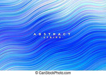 blu, astratto, ondulato, zebrato, fondo