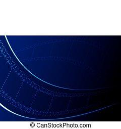 blu, carta da parati, film