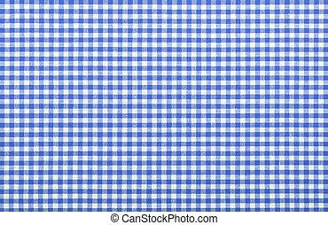 blu, checkered, tessuto