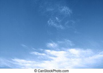 blu, ciel