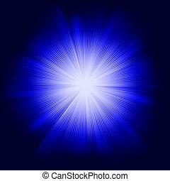 blu, colorare, eps, burst., disegno, 8