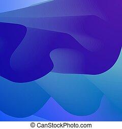 blu, cornice, fondo, spazio, liscio, astratto, creatività, acqua, ondulato, disegno, waves., mare, text., texture., wave., sfondo.